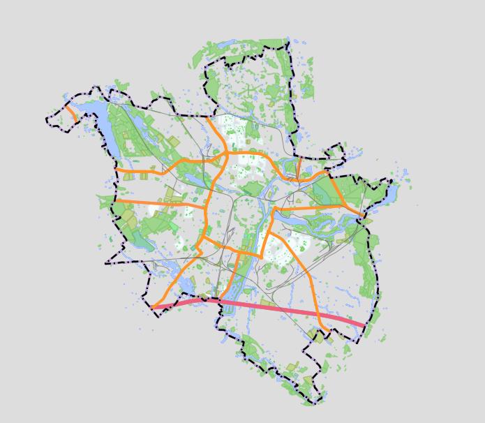 Mapa Miasta Poznań