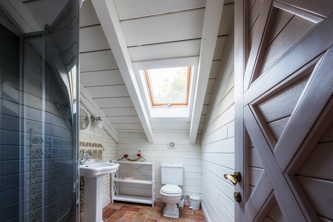 okno do łazienki